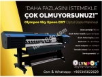 Olympos uv dijital baskı makinesi