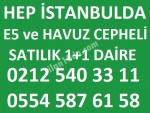 HEP İSTANBULDA SATILIK 2+1 DAİRE
